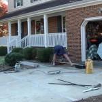 Бетонирование двора: технология, особенности, советы